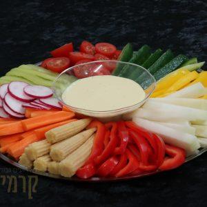 קרמיז לאירועים גבוהים - מגשי אירוח - מגש ירקות