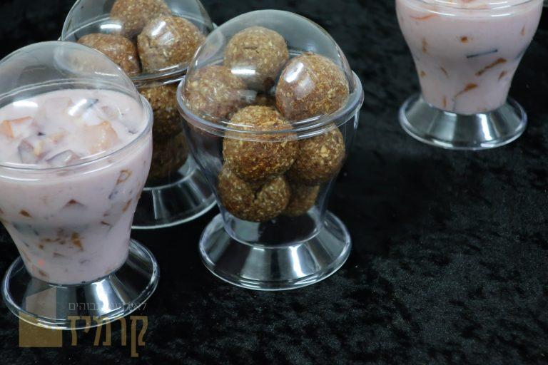 קרמיז לאירועים גבוהים - איידי פרידמן קונדיטורית בעיצוב והכנת אירועים ברמה מקצועית - מארזי מתנה - מארז ארוחת בוקר - כוסמין ללא סוכר