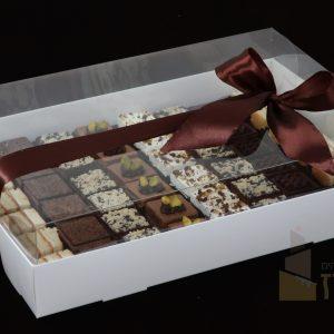 קרמיז לאירועים גבוהים - איידי פרידמן קונדיטורית בעיצוב והכנת אירועים ברמה מקצועית - מארזי מתנה - עוגות חתוכות דגם גולד